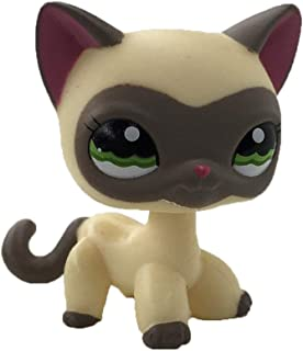 Meidexian888 Rare Littlest Pet Shop, 2.5 inches Collie Dog Child Girl Figure Toy Loose Cute
