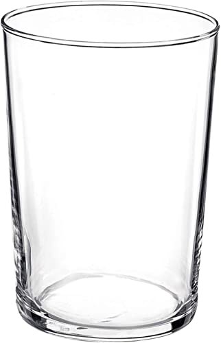 Bormioli Rocco Bodega Collection Glassware – Set Of 12 Maxi 17 Ounce Drinking Glasses For Water, Beverages & Cocktail...