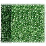 JUEYAN 150 x 300 cm Sichtschutzzaun Grün Gartensichtschutz Kunststoff Sichtschutzmatte Windschutz...