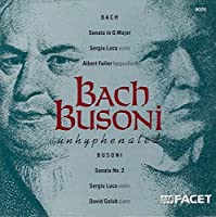 Bach Busoni Unhyphenated by et al Johann Sebastian Bach (Composer) (1992-12-14)
