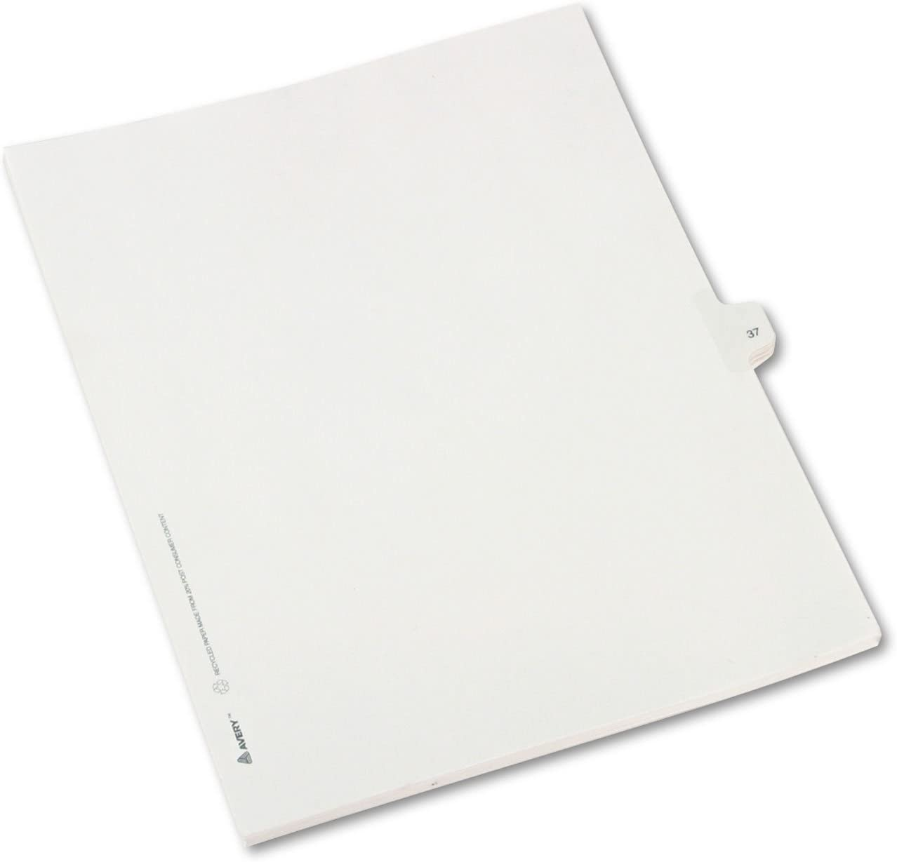 5% OFF Avery 82235 Allstate-Style Legal Exhibit Divider Side Max 90% OFF Title Tab