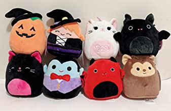 "Squishmallow Kellytoy 2020 Halloween Set of 8 Mini 5"" Plush Dolls Toy"