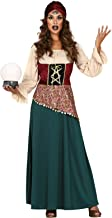 Ladies Fortune Teller Gypsy Circus Carnival TV Film Halloween Fancy Dress Costume Outfit UK 8-16