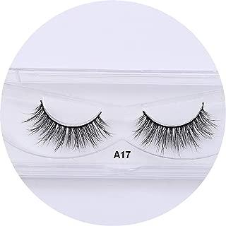 1 Pair 3D Handmade Mink Eyelashes Individual Natural False Eyelashes For Beauty Makeup Fake Eye Lashes Extension-A12,A17