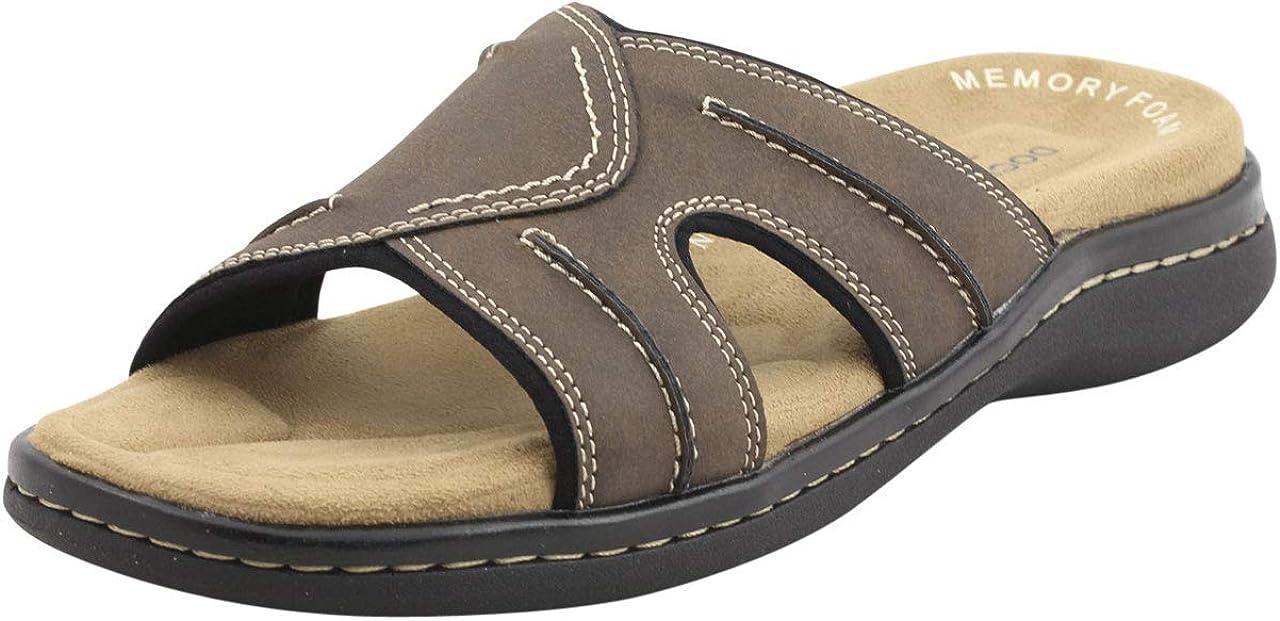激安通販ショッピング Dockers Men's Sunland Sandal 返品不可 Slide