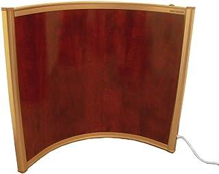 Mauk 1639 - Panel calefactor con diseño semicircular, color rojo