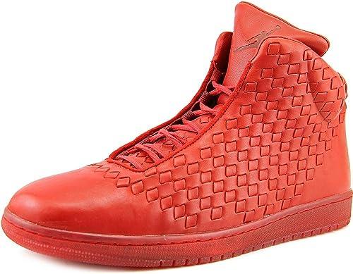 Nike Pour Pour des hommes Briller Varsity rouge Basket en Cuir Chaussures Taille 9.5  meilleure vente