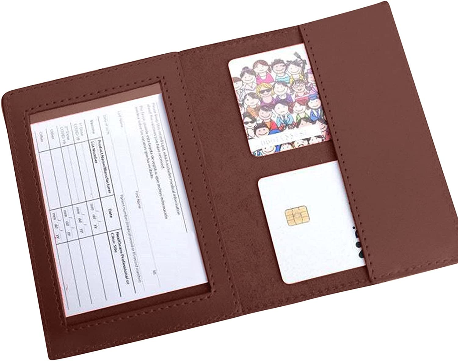 FeiFei66 Multifunctional PU Ranking TOP2 Leather Protective Va Passport Cover Super popular specialty store