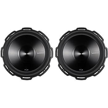 "2 ROCKFORD FOSGATE P3D2-15 15"" 2400 Watt 2-Ohm Car Audio Subwoofers Sub P3D215"
