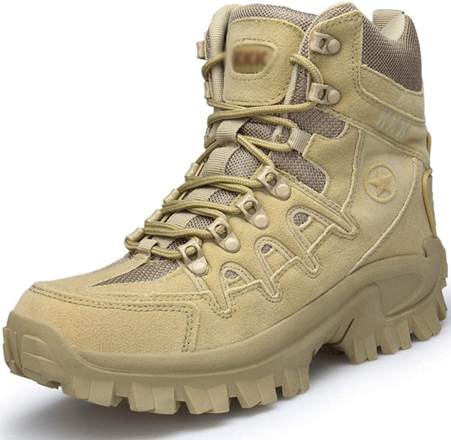 Hiking Boots Autumn Outdoor Men's Special Forces Tactical shoes High To Help Combat Boots Waterproof Desert Marine Boots