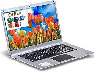 NAT-KU PC ノートパソコン/Windows10Pro/Office付き/メモリ4GB/SSD64GB/14.1インチ/Wi-Fi/WEBカメラ/INTEL Celeron-N3350