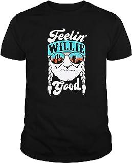 F.e.e.l.i.n' W.i.l.l.i.e Good Shirt Funny Shirt,F.e.e.l.i.n' W.i.l.l.i.e Good Tshirt