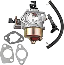 Dalom GX390 Carburetor w Fuel Line Gaskets for Honda GX340 GX 340 11hp GX 390 13hp Engine Replaces 16100-ZF6-V01 Carb Lawn Mower Generator Tiller Cultivator Water Pump