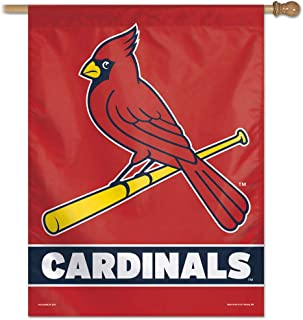 WinCraft MLB St. Louis Cardinals 28x40 Vertical Banner, One Size, Team Color