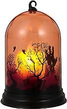 OSALADI Halloween Vlamloze Kaarsen Halloween Decoratieve Lantaarn Lamp Led Halloween Hangende Lantaarn Voor Spookhuis Kost...