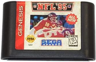 NFL '95 Vintage Sega Genesis Video Game Cartridge