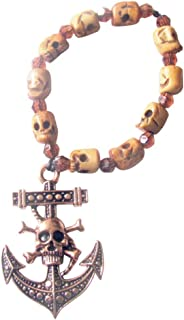 Gifts by Lulee, LLC Memento Mori Chaplet or Hand Rosary Two Styles Bronze or Silver Tone Santa Muerte Incense Included
