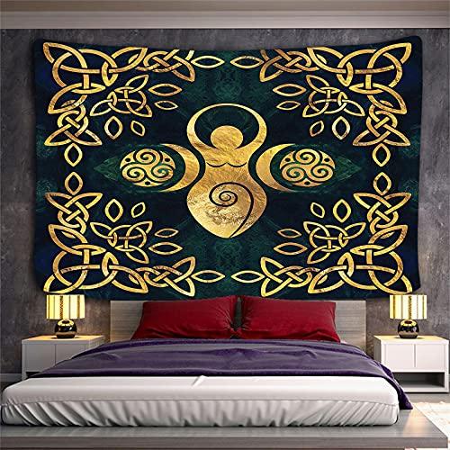 YYRAIN Tapiz Nórdico, Tapiz De Pared Artístico, Tapiz De Impresión Digital, Adecuado para Decoración De Dormitorio Y Sala De Estar 200x150cm A