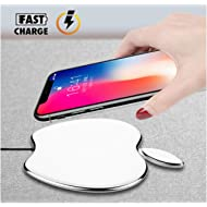 Fast Wireless Charger, 10W Qi Wireless Charging Pad Compatible iPhone Xs/XS Max/XR/X / 8/8 Plus,...