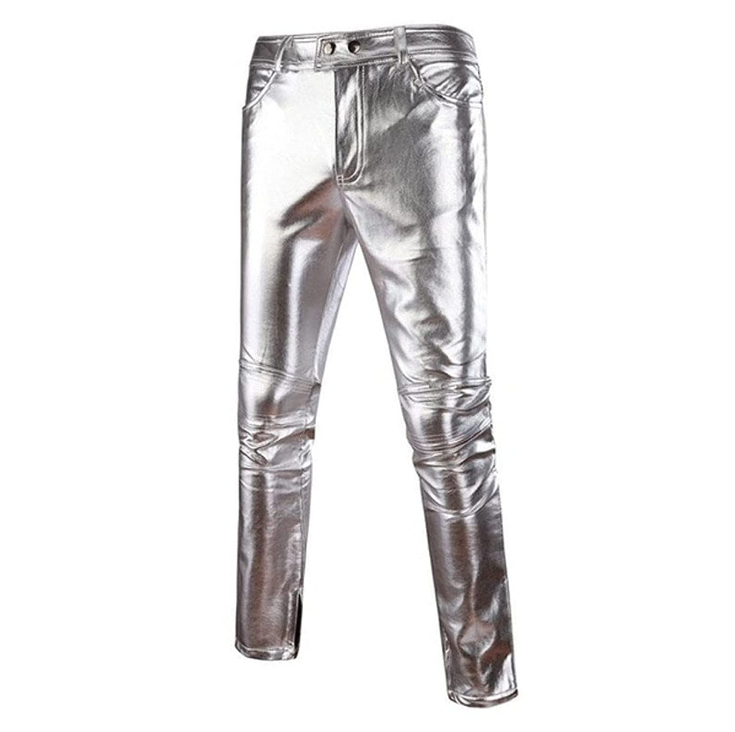 Mens Leather Pants Free shipping on posting reviews Black P Jeans Men Ranking TOP11