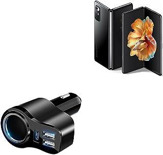 Carregador de carro BoxWave para Xiaomi Mi Mix Fold [Carregador de carro PD XtraPower] Carregador de carro com duas portas...