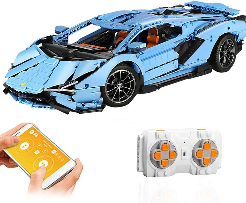 Xiki technic auto sportiva per lamborghini set di costruzioni 4018 pezzi auto telecomandata L225242P1416D93S
