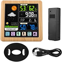 Smart Clock, Clock, ABS Full Color LCD TS-3310 for Homewood Grain Color