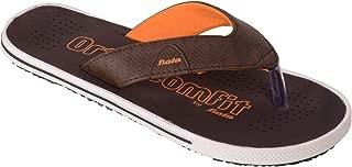 BATA Men Brown Soft Orthocomfit Slippers Flip Flops