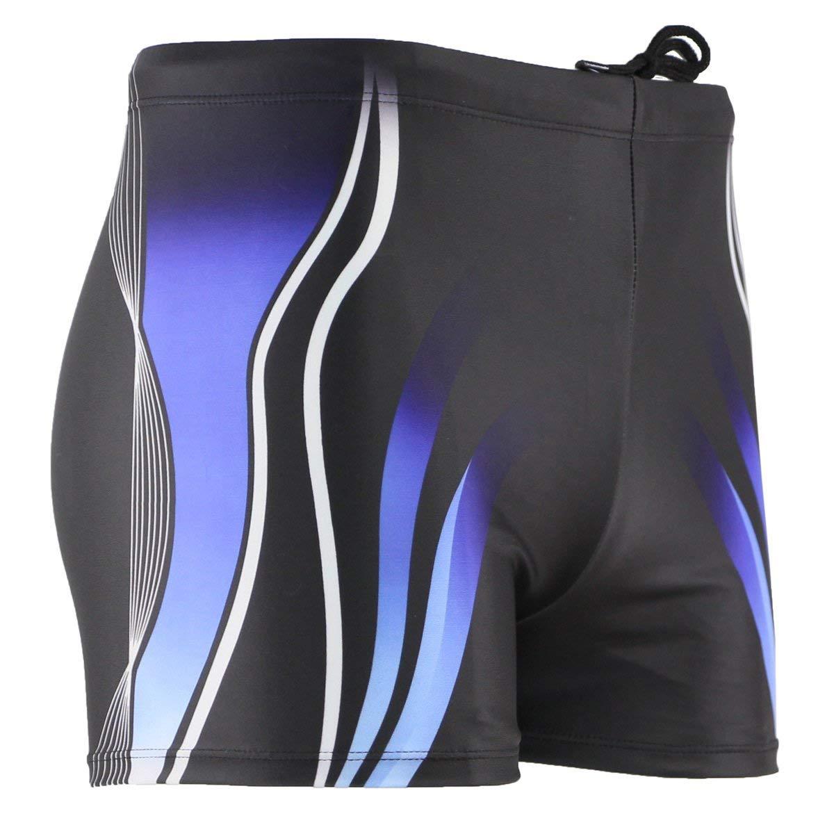 MinYong Mens Square Leg Swimsuit Athletic Swimwear Briefs Swim Jammer