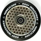 Root Industrie Air Honeycore 120mm Stunt-Scooter Rolle + Fantic26 Sticker -