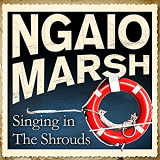 Singing in the Shrouds audiobook cover art