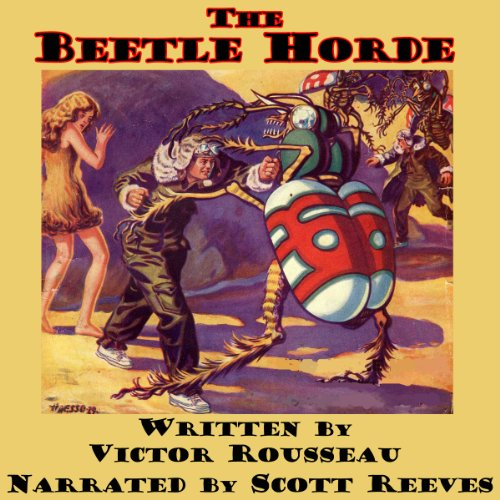 The Beetle Horde audiobook cover art