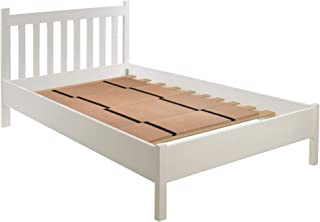 DMI Folding Bunkie Bed Board for Mattress Support, can be used instead of a Box Spring to Streamline and Minimize the Bed or with a Box Spring to Enhance Bed Support, No Assembly Required, Double