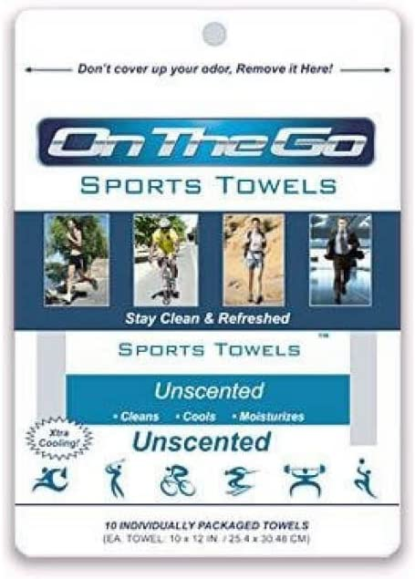 10 Max 42% OFF On The Go Towels Large Unscented Max 86% OFF Wipes Bath