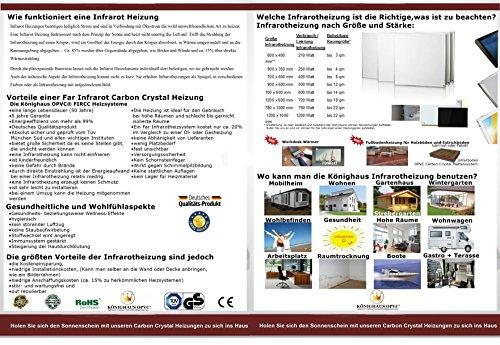 Könighaus Bildheizung Infrarotheizung mit hochauflösendem Motiv 5 Jahre Garantie Bild 2*