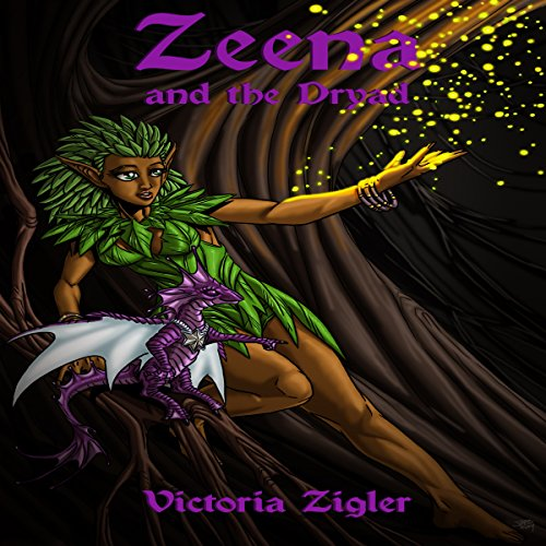 Zeena and the Dryad audiobook cover art