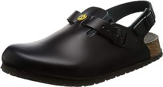 Birkenstock Unisex-Adult Shoes 61400 Tokio ESD Women's & Men's Clogs, Mules, Sandals Black (Black), EU 47