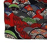 Hongma Baumwolle Leinen Stoff Japanischer Stil Muster