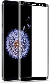 Samsung Galaxy S9 ガラスフィルム Samsung ギャラクシー S9 au SCV38/docomo SC-02K フィルム 専用 強化ガラスフィルム 3D曲面/改良型/干渉しない/貼り付け簡単/気泡ゼロ/旭硝子/硬度9H/透...