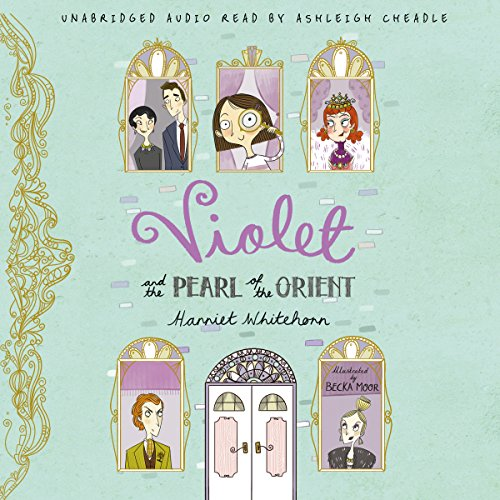 Violet and the Pearl of the Orient audiobook cover art
