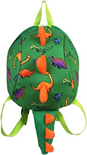 Mochila Infantil Dinosaurio - 3D Dinosaurios Mochila para Niños Infantil Guarderia Mochila Anti-perdida Bolsa de Cinturón de Seguridad Escolar Lindo Animal La Mochila