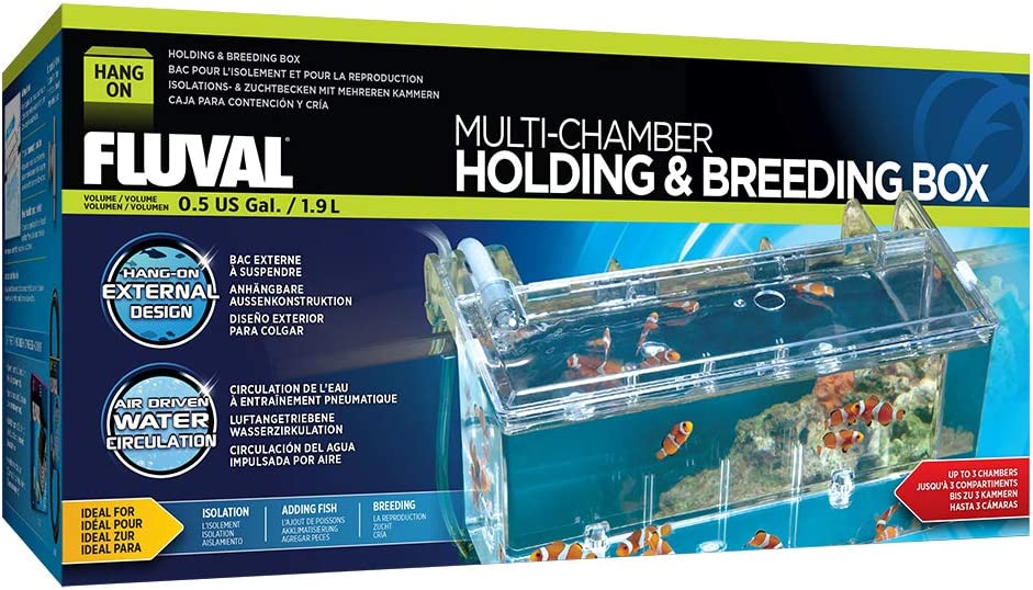 Ranking TOP12 Fluval Muli-Chamber Holding and Breeding Box Classic Large
