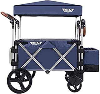 Keenz Stroller Wagon – 7S Pull/Push Wagon Stroller – Safe and Secure Baby Wagon Stroller and Stroller for Big Kids – Versatile Wagon Stroller Ideal for Special Needs, Blue