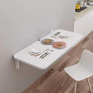 CCEKD Table De Salle à Manger Pliante De Cuisine Bureau D'ordinateur Mural Table à Abattant Domestique pour Petit Espace,9...
