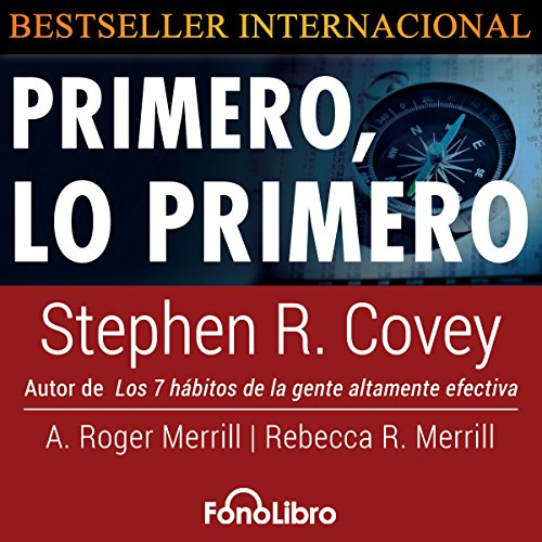 Primero Lo Primero [First Things First] audiobook cover art