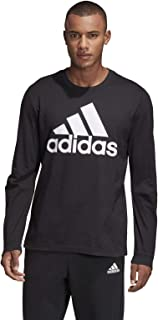 Adidas Men's Must Haves Badge of Sport Tee T-Shirts, Black (Black/white), Small