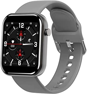 TIANYOU Smart Watch, Bluetooth Smart Watch Hombres Mujeres Tarifa Cardíaca Presión Arterial Fitness Tracker Pedómetro Deporte Reloj Inteligente para Iphone Moda/Gris