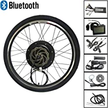 LOLTRA Bluetooth E-Bike Conversion Kit 36V 48V MTB E-Bike Conversion Kit with KT-LCD3 Display Anti-Charge Cruise Regeneration Function