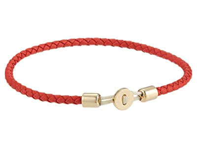 Miansai Nexus Leather Bracelet (Red) Bracelet