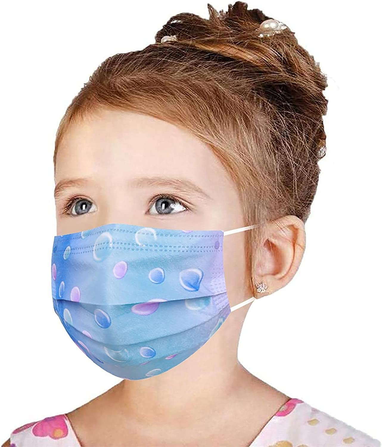 Disposable Face_Mask for Kid Tie-dye mouth cover protect C half Branded goods nose